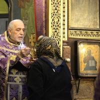 Браницкият еп. Григорий отслужи първата преждеосвещена литургия _7