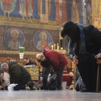 Браницкият еп. Григорий отслужи първата преждеосвещена литургия _8