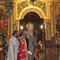 Българският патриарх Неофит отслужи първата част на Богородичния акатист_11