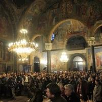 Българският патриарх Неофит отслужи първата част на Богородичния акатист_13