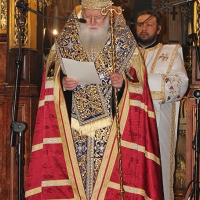 Българският патриарх Неофит отслужи първата част на Богородичния акатист_15