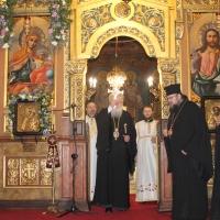 Българският патриарх Неофит отслужи първата част на Богородичния акатист_18