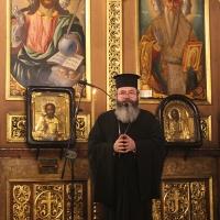 Българският патриарх Неофит отслужи първата част на Богородичния акатист_19