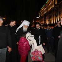 Българският патриарх Неофит отслужи първата част на Богородичния акатист_21