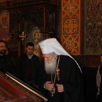 Българският патриарх Неофит отслужи първата част на Богородичния акатист_2