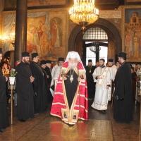 Българският патриарх Неофит отслужи първата част на Богородичния акатист_4