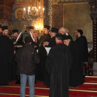 Българският патриарх Неофит отслужи първата част на Богородичния акатист_7