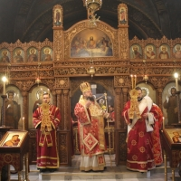 Дяконско ръкоположение и офикия в столичния храм