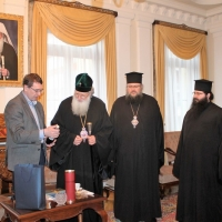 Българският патриарх Неофит прие представители на министерствата на икономиката на България и Молдова_2