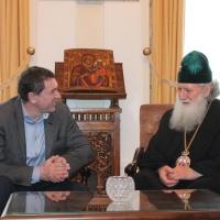 Българският патриарх Неофит прие представители на министерствата на икономиката на България и Молдова_3