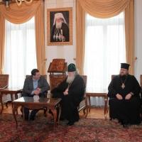 Българският патриарх Неофит прие представители на министерствата на икономиката на България и Молдова_5