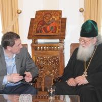 Българският патриарх Неофит прие представители на министерствата на икономиката на България и Молдова_7