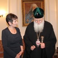 Българският патриарх Неофит прие представители на министерствата на икономиката на България и Молдова_8
