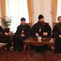 Българският патриарх Неофит се срещна със Запорожския и Мелитополския архиепископ Лука_10