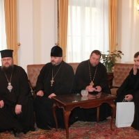Българският патриарх Неофит се срещна със Запорожския и Мелитополския архиепископ Лука_11