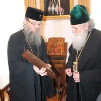 Българският патриарх Неофит се срещна със Запорожския и Мелитополския архиепископ Лука_14