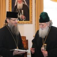 Българският патриарх Неофит се срещна със Запорожския и Мелитополския архиепископ Лука_18