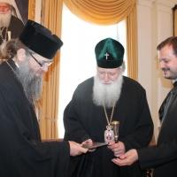 Българският патриарх Неофит се срещна със Запорожския и Мелитополския архиепископ Лука_19