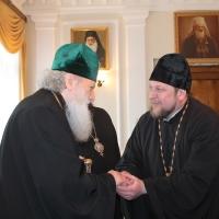 Българският патриарх Неофит се срещна със Запорожския и Мелитополския архиепископ Лука_20