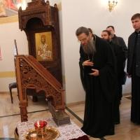 Българският патриарх Неофит се срещна със Запорожския и Мелитополския архиепископ Лука_22