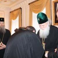 Българският патриарх Неофит се срещна със Запорожския и Мелитополския архиепископ Лука_2