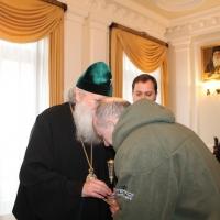 Българският патриарх Неофит се срещна със Запорожския и Мелитополския архиепископ Лука_4