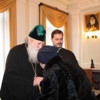 Българският патриарх Неофит се срещна със Запорожския и Мелитополския архиепископ Лука_5