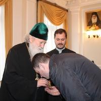 Българският патриарх Неофит се срещна със Запорожския и Мелитополския архиепископ Лука_6