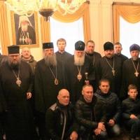 Българският патриарх Неофит се срещна със Запорожския и Мелитополския архиепископ Лука_7
