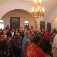 Архиерейска литургия за празника на св. Екатерина_16
