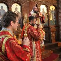 Лития и архиерейска литургия в чест на св. Георги Софийски Най-нови_19