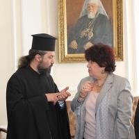 Българският патриарх Неофит прие днес първия архиерей на Арменската епархия в България Исахк Бохосян_10