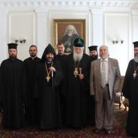 Българският патриарх Неофит прие днес първия архиерей на Арменската епархия в България Исахк Бохосян_7