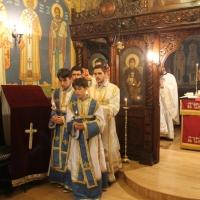 В Богословския факултет бе отслужено Всенощно бдение_14