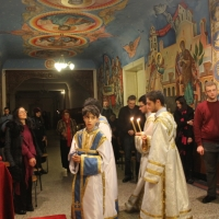 В Богословския факултет бе отслужено Всенощно бдение_15