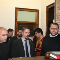 В Богословския факултет бе отслужено Всенощно бдение_5