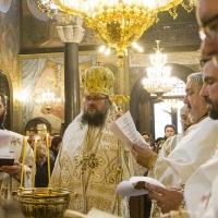 Архиерейска богослужба за Водици в храм Св. Неделя_10