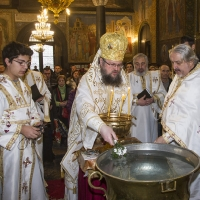 Архиерейска богослужба за Водици в храм Св. Неделя_11
