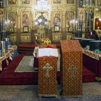 Архиерейска богослужба за Водици в храм Св. Неделя_1