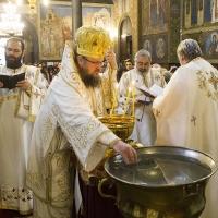 Архиерейска богослужба за Водици в храм Св. Неделя_5