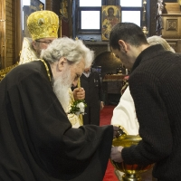 Архиерейска богослужба за Водици в храм Св. Неделя_7