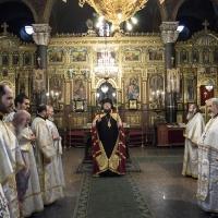 Посрещане на Браницки епископ Григорий в храма