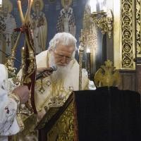Негово Светейшество Българският патриарх и Софийски митрополит Неофит - евангелско четиво