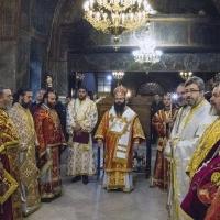 Архиерейска св. Литургия в храм Пресвета Богородица - Живоприемни източник