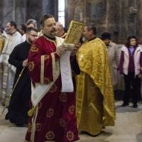 Протодякон Иван Петков - със св. Евангелие