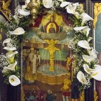 Патронната икона на храма Пресвета Богородица - Живоприемни източник в кв. Подуене