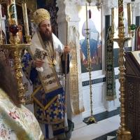 Архиерейска св. Литургия за празника на чудотворната икона на Пресвета Богородица - Всецарица