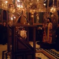 Бдение за празника на чудотворната икона на Пресвета Богородица - Всецарица