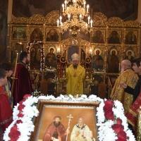 Архиерейска св. Литургия за празника на храм Св. Кирил и Методий