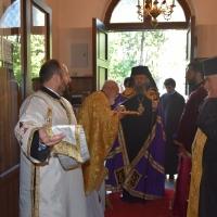 Посрещане на епископ Константин